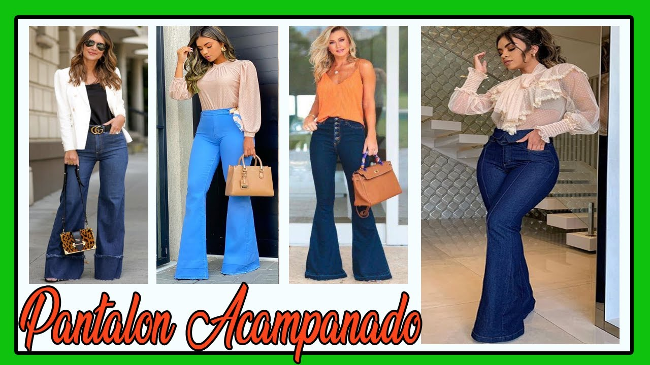 Outfits Con Pantalones Acampanados Bonitos Outfits Casuales Y Elegantes 2020 Youtube