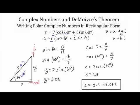 Understanding and Using DeMoivre's Theorem