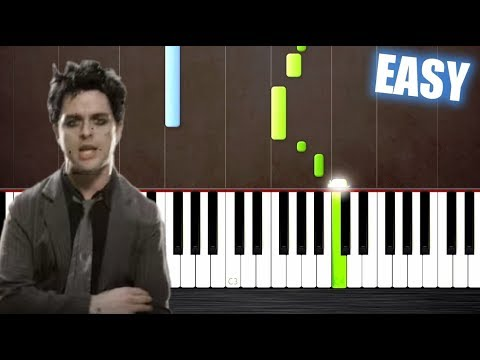 Green Day - Boulevard Of Broken Dreams - EASY Piano Tutorial by PlutaX