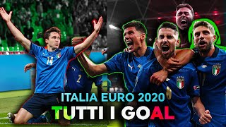 """La CAVALCATA dell'ITALIA in 3 MINUTI a EURO 2020 - """"BELIEVER"""" - MINI FILM HD"""