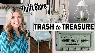 Trash to Treasure Upcycle ⭐Thrift Store Makeover