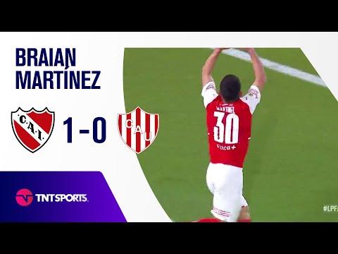 ¡GOLAZO DEL ROJO! 🔥 Martínez | Independiente vs. Unión SF (1-0) | Fecha 18 - Torneo de la Liga 2021