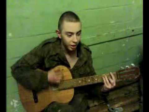 солдат поет песню маме домой под гитару