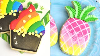 COLORFUL DECORATED COOKIES Compilation
