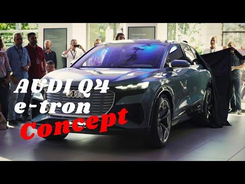 Audi: Q4 E-tron Concept Macht Zürich-Stopp