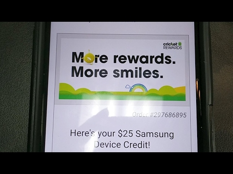 Super Chat Sunday Cricket Wireless $25 Live Samsung Upgrade Credit Giveaway!