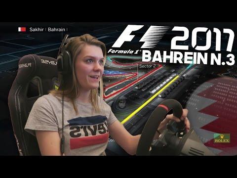 F1 BAHREIN SAKHIR RACE! HAMILTON GEEFT OP! (Formule 1: 2017)