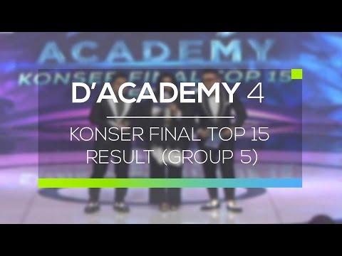 Highlight D'Academy 4 - Konser Final Top 15 Result (Group 5)