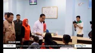 Jokowi Sidak Layanan BPJS Kesehatan