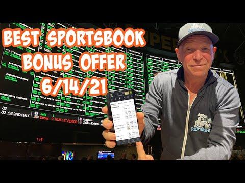 Best Online Sportsbook Bonus Offer For Today 6/14/21