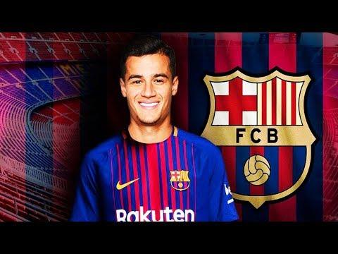 Oficial: Philippe Coutinho es Nuevo Jugador del Barcelona | Fútbol Social