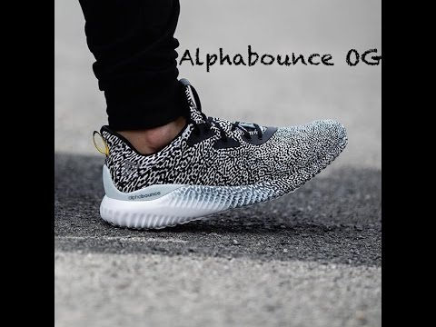 56f0c07130e03 Adidas Alphabounce  OG  Aramis Unboxing and Review - YouTube