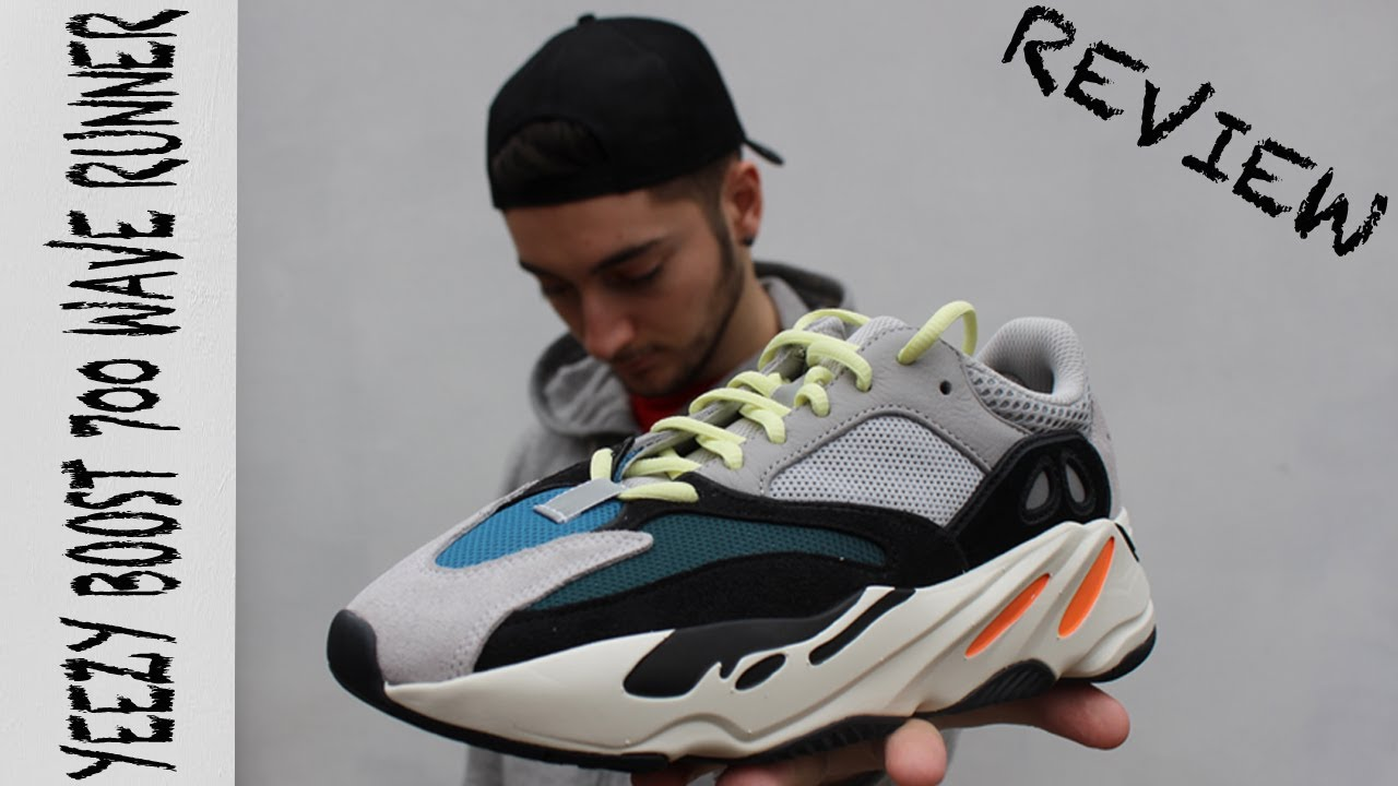 ADIDAS YEEZY BOOST 700 WAVE RUNNER REVIEW !  808770c9cfb