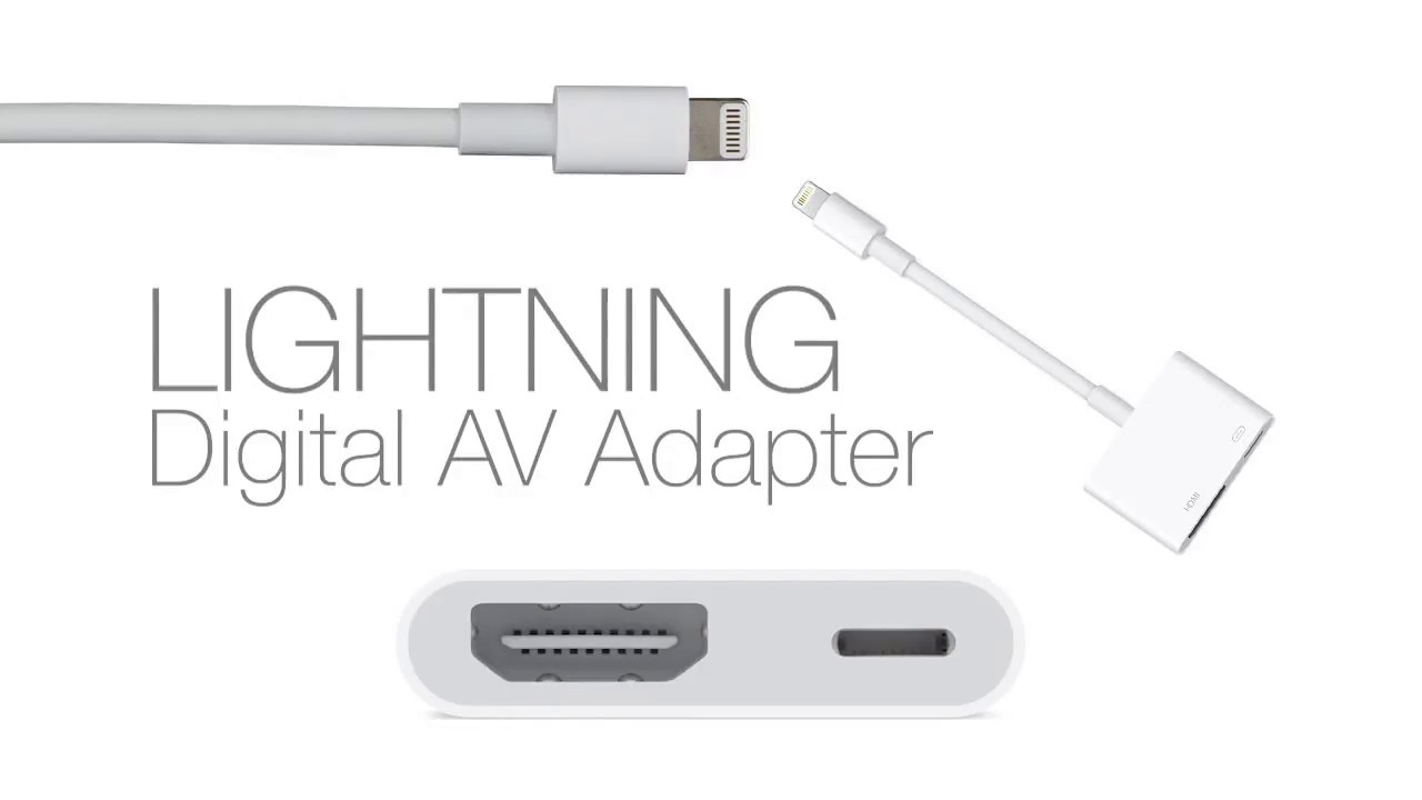 32d312c2f22 Apple Lightning to HDMI adapter review - YouTube