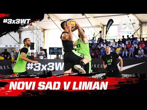 Novi Sad v Liman | Final | Full Game | FIBA 3x3 World Tour 2018 - Hyderabad Masters