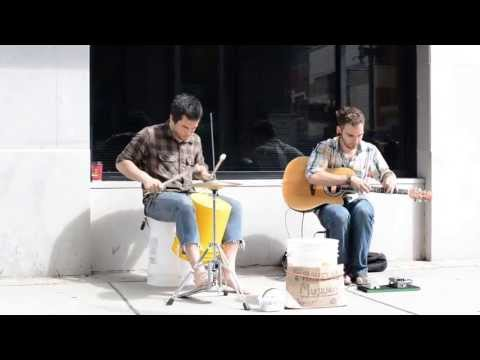Russo And Kelly - Busking In Downtown Knoxville, TN