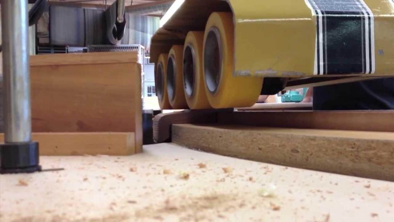Custom Curved Bar Top Rail | LBM Design