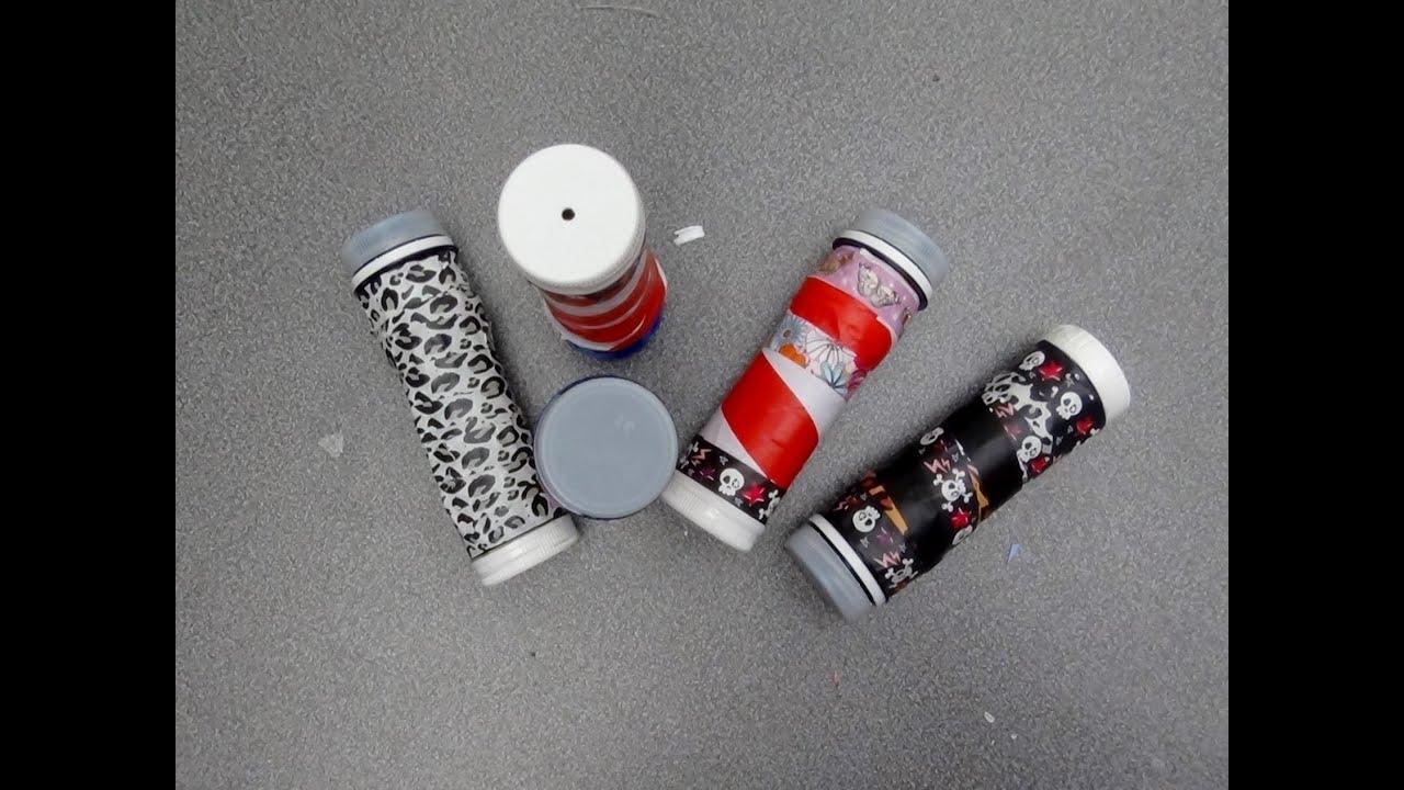 Taller para ni os c mo hacer un caleidoscopio con material - Manualidades para ninos reciclaje ...