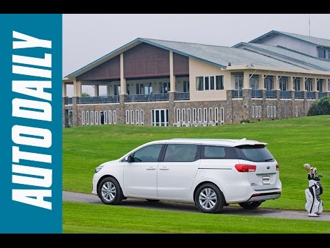 Autodaily.vn I Đánh giá xe Kia Sedona lắp ráp, giá gần 1,2 tỷ đồng |4K|