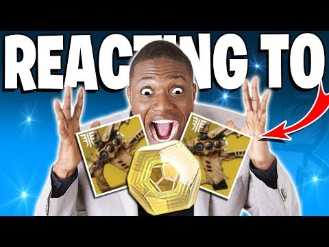 Destiny 2 - CRAZY REACTION TO 3 EXOTICS DROP!!! - Top 5 Funny Reactions Of The Week - Ep / 103 thumbnail