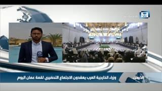 مراسل الإخبارية: وزراء الخارجية العرب يعقدون الاجتماع التحضيري لقمة العربية