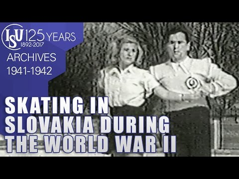 Skating in Slovakia during the World War II (1941-1942)  - ISU Archives