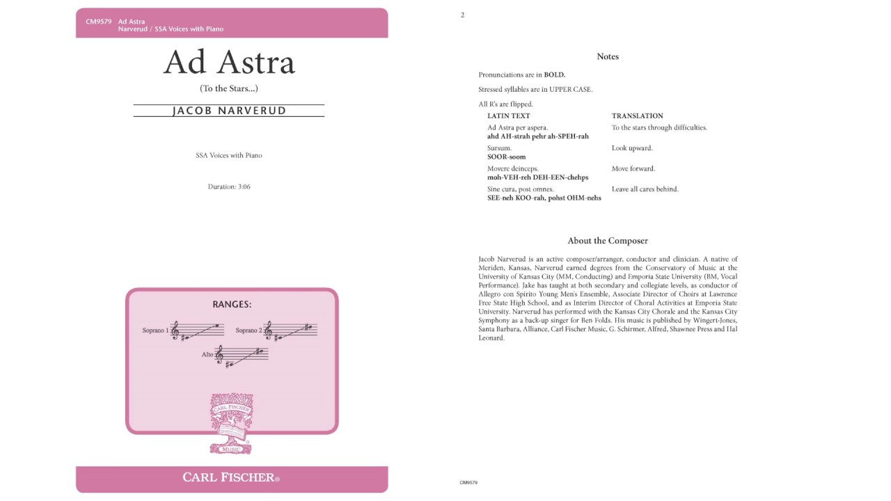Download Ad Astra (CM9579) by Jacob Narverud