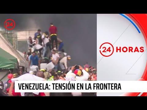 Tensión se mantiene en frontera entre Colombia y Venezuela el día después del 23F
