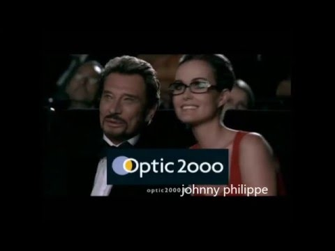Johnny Hallyday  optic 2000 pub