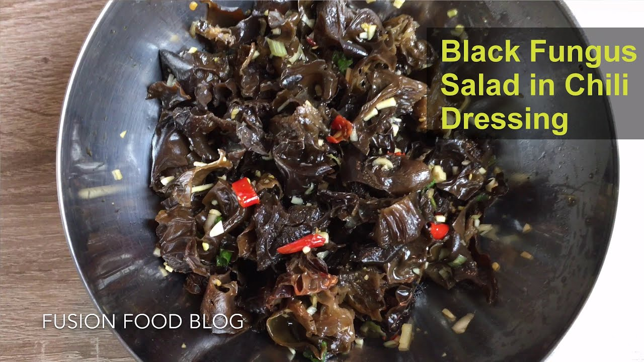 Black fungus salad in chopped chili sauce duojiao vegan authentic black fungus salad in chopped chili sauce duojiao vegan authentic hunan recipe 5 fusion food blog forumfinder Images