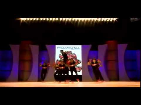 Allu arjun top lesi podi Song in World hip hop dance Competition by india team