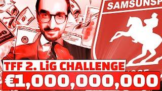 Samsunspor'a 1 Mİlyar Euro!!! // Rebuild Challenge // Fifa 20 Karİyer