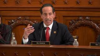 Raskin Questions Witnesses in Judiciary Impeachment Hearing