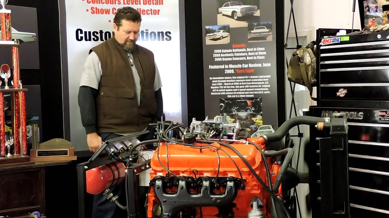 1966 Chevy Impala 396 Turbo Jet Youtube Engine
