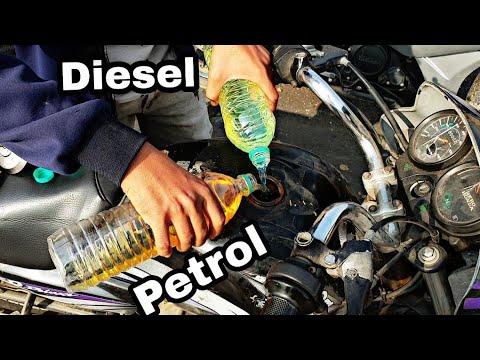 Mixing - Diesel with Petrol In Petrol Bike - पेट्रोल गाड़ी में डीजल डाल दें तो क्या होगा