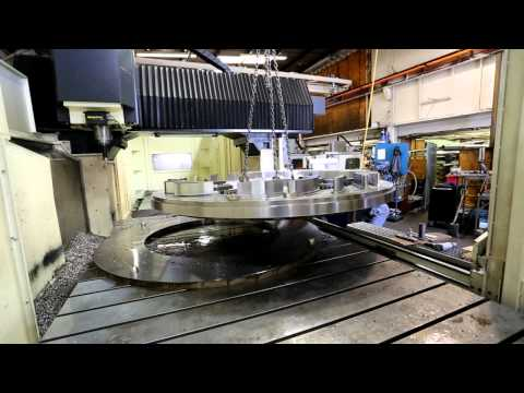 The Manufacturing of a Francis Turbine Stay Ring at Ebco Industries