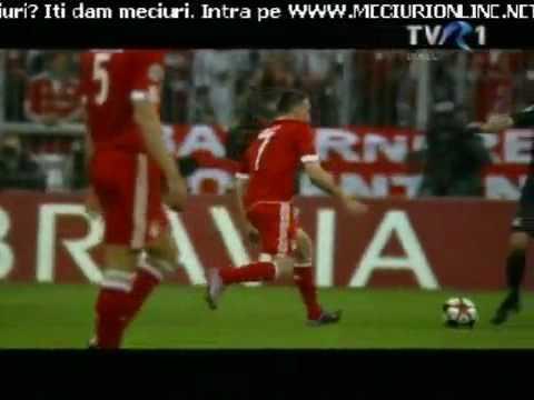 frank-ribery-red-card---bayern-munich-vs-lyon-!!