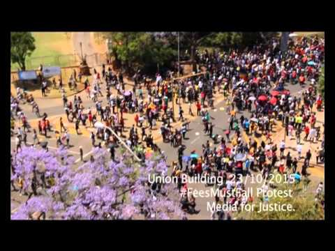 Union Building #FeesMustFall Student Protest
