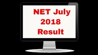 NET July 2018 Result by Be Prepare for UGC-NET Live Stream