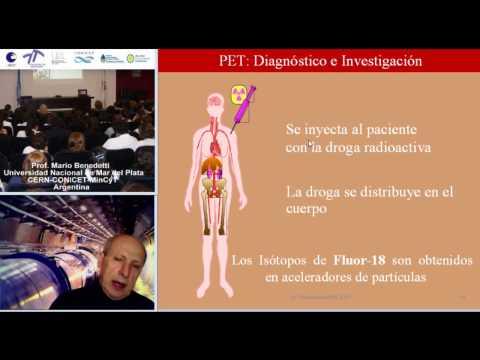 LHC 2011 CERN, PET, Positron Emission Tomography, aplicaciones medicas  español  2010