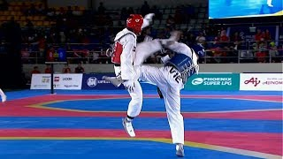 Philippines vs Vietnam | Taekwondo M -68kg Semifinal | 2019 SEA Games