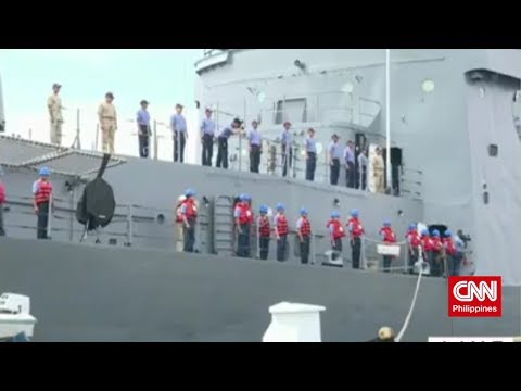 Philippine Navy heading to Brunei and Malaysia (CNN Philippines Newsroom Weekend)