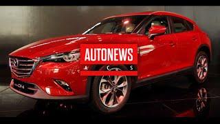 Новый кроссовер Mazda CX-4 официально представлен в Пекине