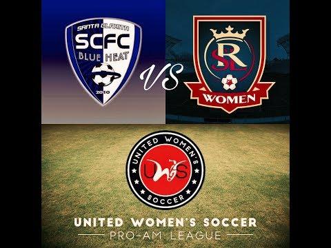 Watch LIVE: SC Blue Heat FC vs. Real Salt Lake Women | UWS League 2017