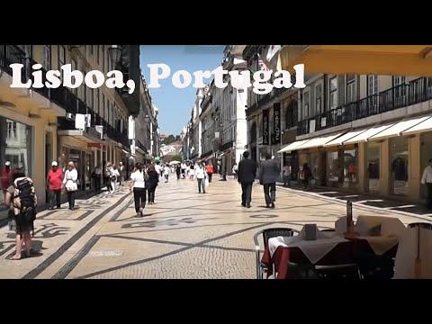 Lisboa: Percorrendo a rua Augusta