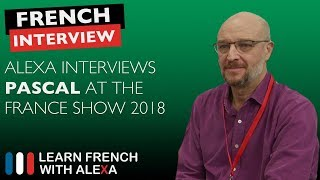 Alexa interviews French Radio London - The France Show 2018