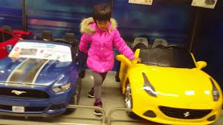 Toy car review in Toys R us
