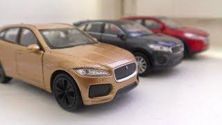 Toy Cars Review for Kids (Jaguar, Kia, Hyundai)