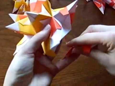 origami 3d stern youtube. Black Bedroom Furniture Sets. Home Design Ideas