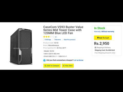 Top 5 Best Casing For your Gaming PC under 5000 PKR